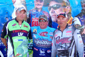 Pa. pro Jason Ober, Capt. Rich and Milton Ontario, pro Bob Izume shared some great time fishing the FLW Tournament.